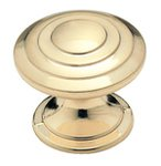 Amerock BP1354O74 Brushed Brass 1 1/4