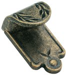 "Amerock BP1583R2 Weathered Brass 1 7/8"" Finger Pull from the Inspirations Collection"