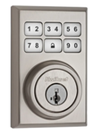 Kwikset CP910CNTZW500 SmartCode Contemporary Touchpad Electronic Deadbolt with Z-Wave 500 Technology