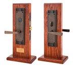 Emtek 3508 Craftsman Single Cylinder Mortise Entry Set