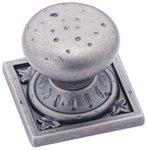 "Amerock BP4484WN Weathered Nickel 1 1/4"" Knob from the Ambrosia Collection"