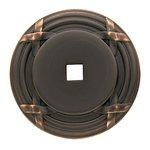 Baldwin 4613 1-2/10 Inch x 2 Inch Cabinet Knob Back Plate