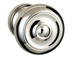 Omnia 473/45PA Passage Knobset with 1-3/4 Inch Rosette product