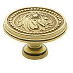 Baldwin 4931 1-1/2 Inch Diameter Ornamental Cabinet Knob