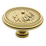 Baldwin 4932 2 Inch Diameter Ornamental Cabinet Knob