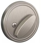 Dexter JD81 One-Sided Deadbolt with Exterior Plate product