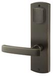 Emtek 7575 9 Inch Height Sandcast Bronze Missoula Sideplate Dummy Set