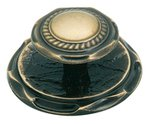 """Amerock BP778AE Antique Brass 2"""" Knob from the Allison Collection"""