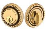 Emtek 8464 Solid Brass Rope Single Cylinder Deadbolt product