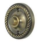 Deltana BBRR213U Round Rope Bell Button