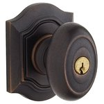 Baldwin 5238.FD Estate Bethpage Full Dummy Knobset for 2-1/4 Inch Thick Doors