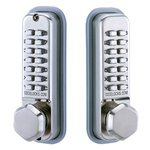 Codelocks CL290BB Back-to-Back Mechanical Keypad Deadbolt