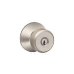 Schlage F51BWE Bowery Keyed Entry Knobset