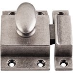 "Top Knobs M1786 Cabinet Latch 2"" - Pewter Antique  from the Additions Collection"