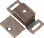 Hickory Hardware HH P651-STB 1-7/8 In. Statuary Bronze Double Magnetic Catch