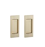 Baldwin PD006.PASS Small Santa Monica Passage Pocket Door Mortise Lock