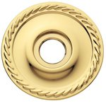 Baldwin 5149 Pair of Estate Rosettes for Privacy Function