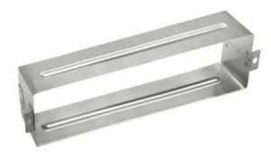 Baldwin 0052.324 stainless steel letter box sleeve