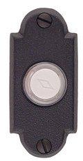 Emtek 2461 Brass Doorbell Button with Small #1 Rosette