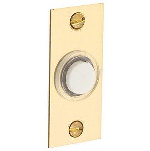 Baldwin 4853 Rectangular Bell Button