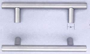 Omnia 946476 3 Inch Center To Center Stainless Steel Pull
