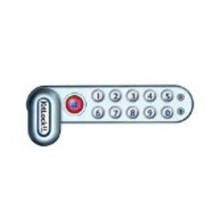 Codelocks KL1006SGRH Right Handed Horizontal Electronic Lock For Cabinets Up To 3/4 Inch Thick
