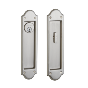 Baldwin Pd016 Entr Boulder Keyed Pocket Door Mortise Lock