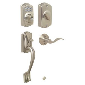 Schlage Fe365 Cam Acc Camelot Electronic Single Cylinder