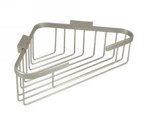 Deltana WBC1310U 13-1/4 Inch Corner Shower Basket