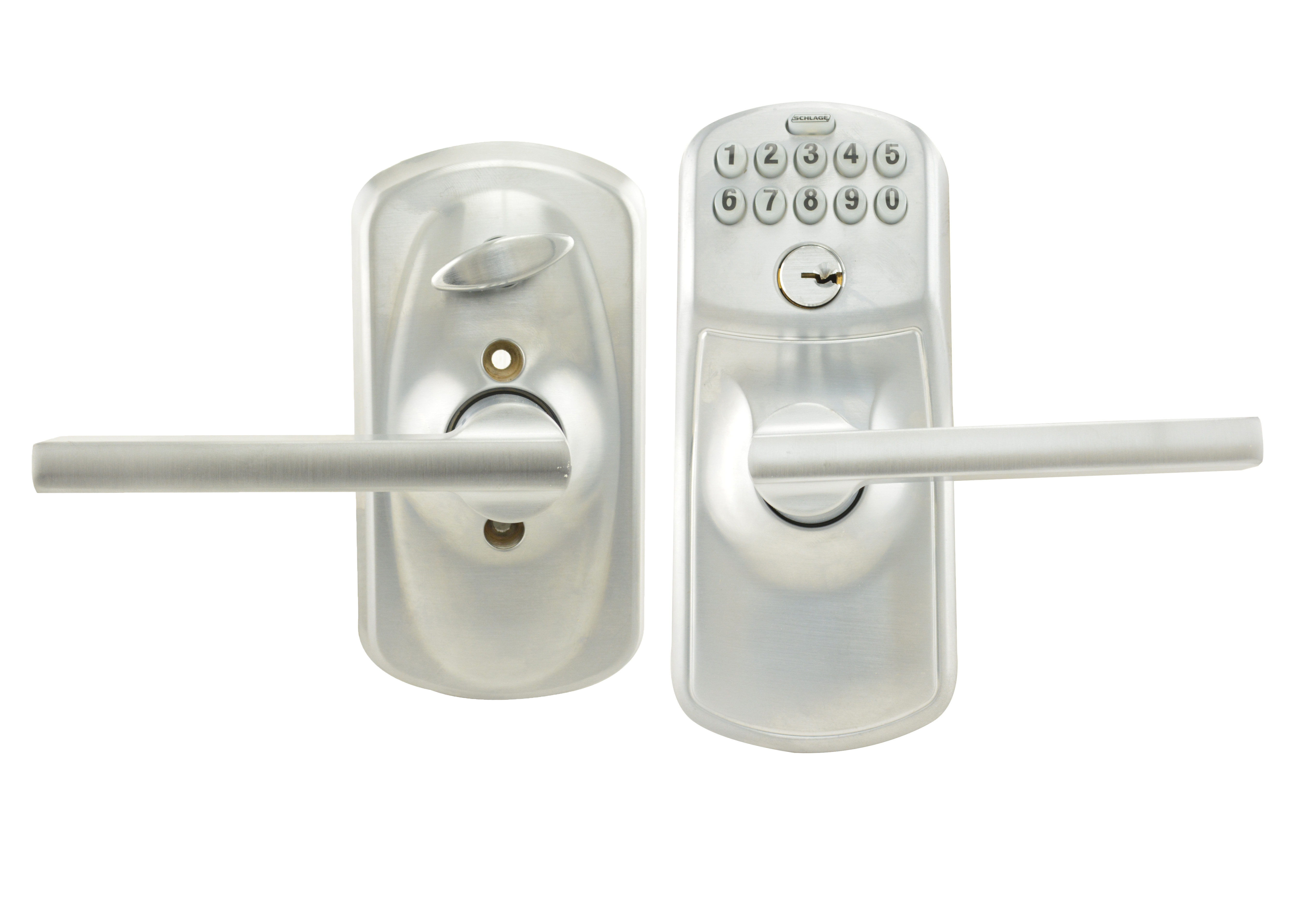 Schlage Fe595 Ply Lat Plymouth Keypad Flex Lock Entry